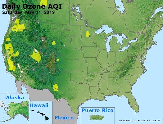 Peak Ozone (8-hour) - https://files.airnowtech.org/airnow/2019/20190511/peak_o3_usa.jpg