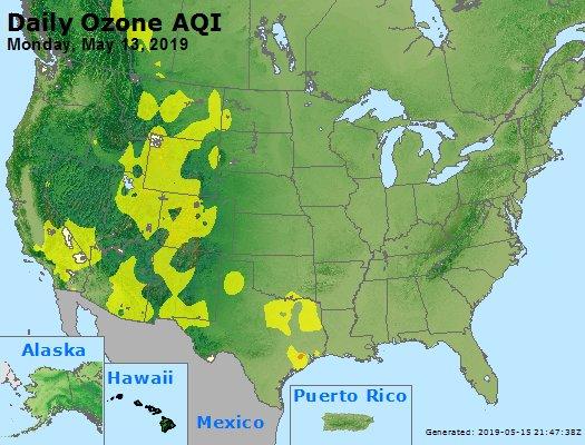 Peak Ozone (8-hour) - https://files.airnowtech.org/airnow/2019/20190513/peak_o3_usa.jpg