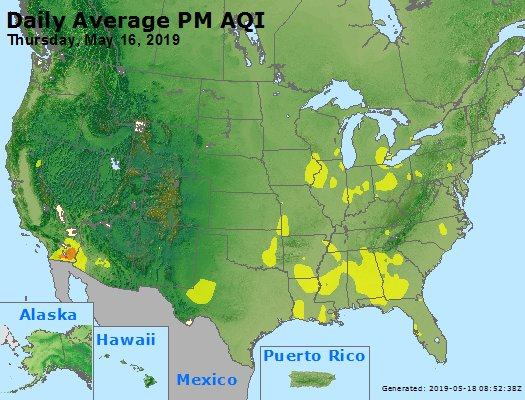 Peak Particles PM2.5 (24-hour) - https://files.airnowtech.org/airnow/2019/20190516/peak_pm25_usa.jpg