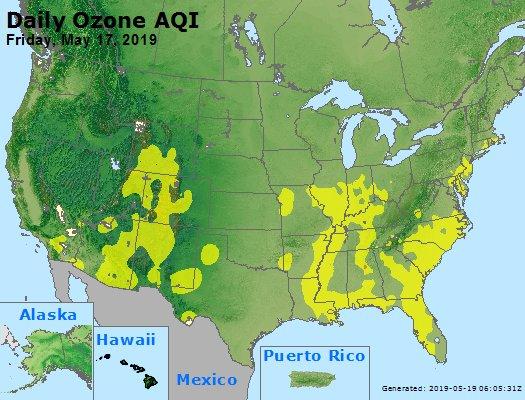 Peak Ozone (8-hour) - https://files.airnowtech.org/airnow/2019/20190517/peak_o3_usa.jpg