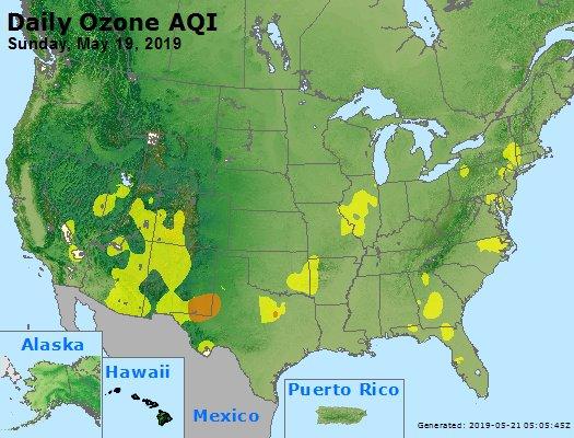 Peak Ozone (8-hour) - https://files.airnowtech.org/airnow/2019/20190519/peak_o3_usa.jpg