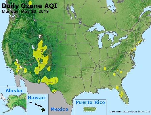 Peak Ozone (8-hour) - https://files.airnowtech.org/airnow/2019/20190520/peak_o3_usa.jpg