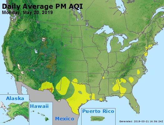 Peak Particles PM2.5 (24-hour) - https://files.airnowtech.org/airnow/2019/20190520/peak_pm25_usa.jpg