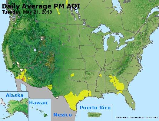 Peak Particles PM2.5 (24-hour) - https://files.airnowtech.org/airnow/2019/20190521/peak_pm25_usa.jpg