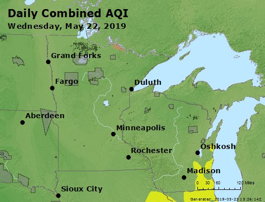 Peak AQI - https://files.airnowtech.org/airnow/2019/20190522/peak_aqi_mn_wi.jpg