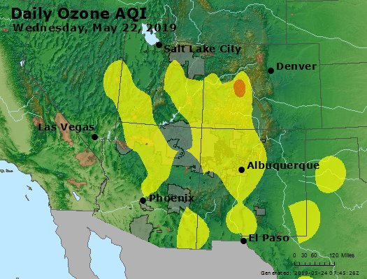 Peak Ozone (8-hour) - https://files.airnowtech.org/airnow/2019/20190522/peak_o3_co_ut_az_nm.jpg