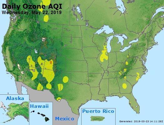 Peak Ozone (8-hour) - https://files.airnowtech.org/airnow/2019/20190522/peak_o3_usa.jpg