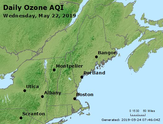 Peak Ozone (8-hour) - https://files.airnowtech.org/airnow/2019/20190522/peak_o3_vt_nh_ma_ct_ri_me.jpg