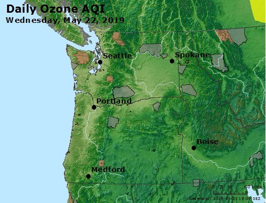 Peak Ozone (8-hour) - https://files.airnowtech.org/airnow/2019/20190522/peak_o3_wa_or.jpg