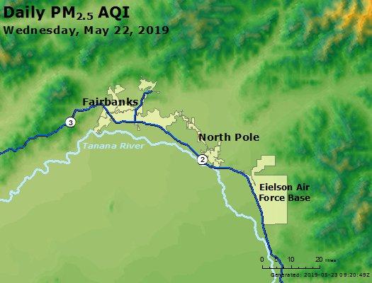 Peak Particles PM2.5 (24-hour) - https://files.airnowtech.org/airnow/2019/20190522/peak_pm25_fairbanks_ak.jpg