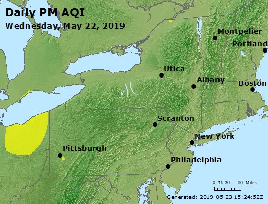 Peak Particles PM2.5 (24-hour) - https://files.airnowtech.org/airnow/2019/20190522/peak_pm25_ny_pa_nj.jpg