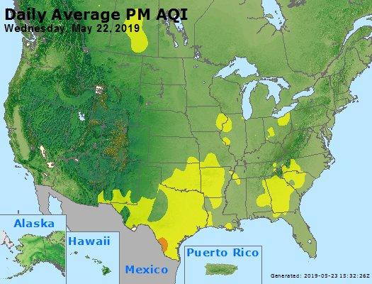 Peak Particles PM2.5 (24-hour) - https://files.airnowtech.org/airnow/2019/20190522/peak_pm25_usa.jpg
