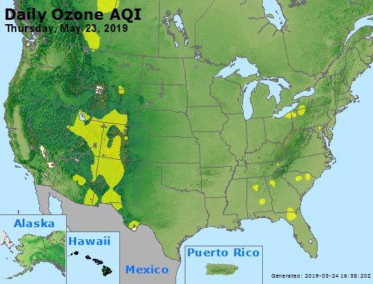 Peak Ozone (8-hour) - https://files.airnowtech.org/airnow/2019/20190523/peak_o3_usa.jpg