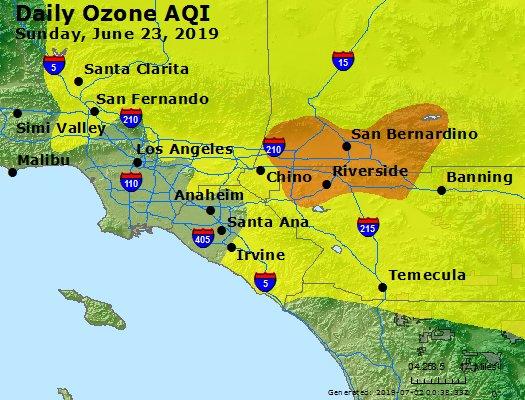 Peak Ozone (8-hour) - https://files.airnowtech.org/airnow/2019/20190623/peak_o3_losangeles_ca.jpg