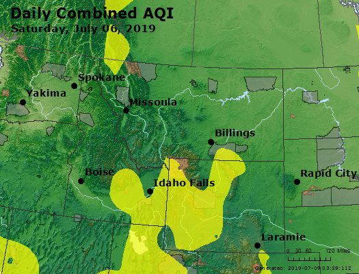 AirNow - Medicine Bow National Forest, WY Air Quality