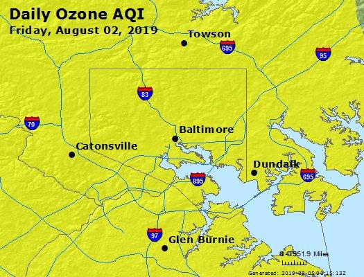 Peak Ozone (8-hour) - https://files.airnowtech.org/airnow/2019/20190802/peak_o3_baltimore_md.jpg