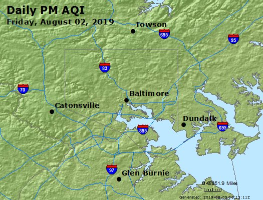 Peak Particles PM2.5 (24-hour) - https://files.airnowtech.org/airnow/2019/20190802/peak_pm25_baltimore_md.jpg