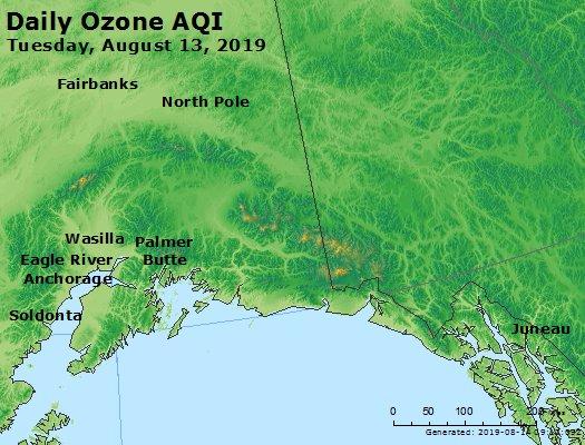 Peak Ozone (8-hour) - https://files.airnowtech.org/airnow/2019/20190813/peak_o3_alaska.jpg