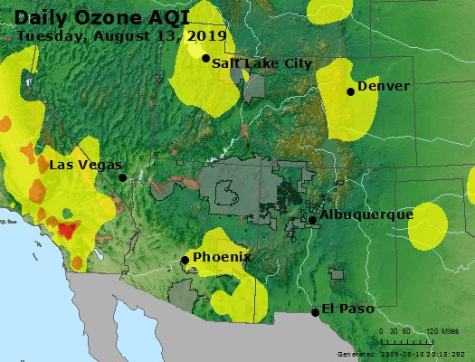 Peak Ozone (8-hour) - https://files.airnowtech.org/airnow/2019/20190813/peak_o3_co_ut_az_nm.jpg
