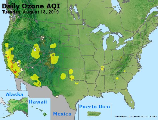Peak Ozone (8-hour) - https://files.airnowtech.org/airnow/2019/20190813/peak_o3_usa.jpg