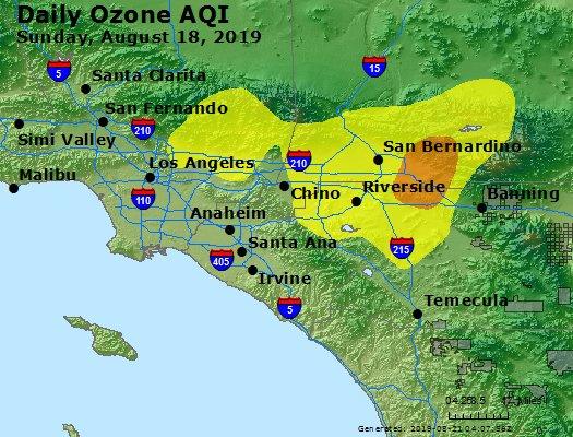 Peak Ozone (8-hour) - https://files.airnowtech.org/airnow/2019/20190818/peak_o3_losangeles_ca.jpg