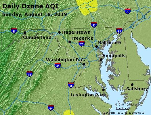 Peak Ozone (8-hour) - https://files.airnowtech.org/airnow/2019/20190818/peak_o3_maryland.jpg