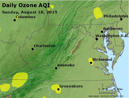 Peak Ozone (8-hour) - https://files.airnowtech.org/airnow/2019/20190818/peak_o3_va_wv_md_de_dc.jpg