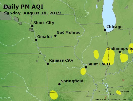 Peak Particles PM2.5 (24-hour) - https://files.airnowtech.org/airnow/2019/20190818/peak_pm25_ia_il_mo.jpg