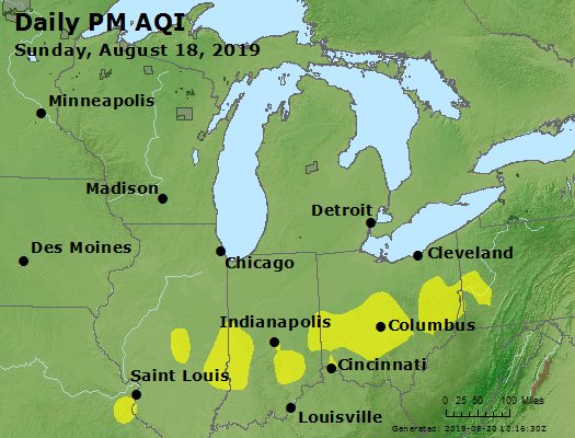 Peak Particles PM2.5 (24-hour) - https://files.airnowtech.org/airnow/2019/20190818/peak_pm25_mi_in_oh.jpg