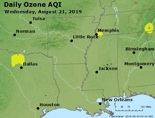 Peak Ozone (8-hour) - https://files.airnowtech.org/airnow/2019/20190821/peak_o3_ar_la_ms.jpg