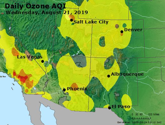 Peak Ozone (8-hour) - https://files.airnowtech.org/airnow/2019/20190821/peak_o3_co_ut_az_nm.jpg