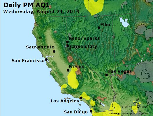 Peak Particles PM2.5 (24-hour) - https://files.airnowtech.org/airnow/2019/20190821/peak_pm25_ca_nv.jpg