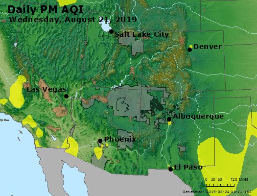 Peak Particles PM2.5 (24-hour) - https://files.airnowtech.org/airnow/2019/20190821/peak_pm25_co_ut_az_nm.jpg