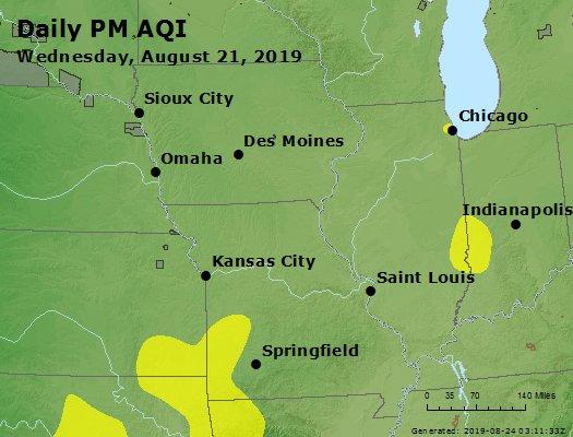 Peak Particles PM2.5 (24-hour) - https://files.airnowtech.org/airnow/2019/20190821/peak_pm25_ia_il_mo.jpg