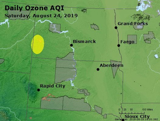 Peak Ozone (8-hour) - https://files.airnowtech.org/airnow/2019/20190824/peak_o3_nd_sd.jpg
