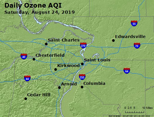 Peak Ozone (8-hour) - https://files.airnowtech.org/airnow/2019/20190824/peak_o3_stlouis_mo.jpg
