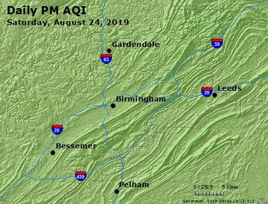 Peak Particles PM2.5 (24-hour) - https://files.airnowtech.org/airnow/2019/20190824/peak_pm25_birmingham_al.jpg