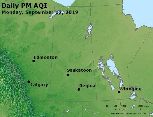 Peak Particles PM2.5 (24-hour) - https://files.airnowtech.org/airnow/2019/20190902/peak_pm25_central_canada.jpg