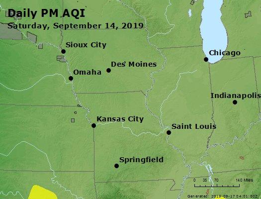 Peak Particles PM2.5 (24-hour) - https://files.airnowtech.org/airnow/2019/20190914/peak_pm25_ia_il_mo.jpg