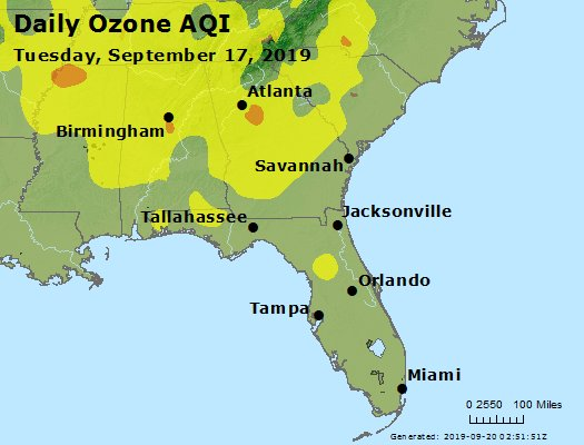 Peak Ozone (8-hour) - https://files.airnowtech.org/airnow/2019/20190917/peak_o3_al_ga_fl.jpg