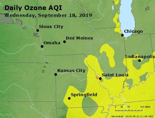 Peak Ozone (8-hour) - https://files.airnowtech.org/airnow/2019/20190918/peak_o3_ia_il_mo.jpg