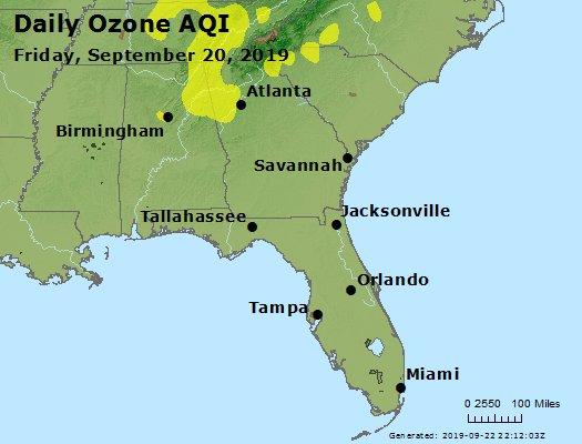 Peak Ozone (8-hour) - https://files.airnowtech.org/airnow/2019/20190920/peak_o3_al_ga_fl.jpg