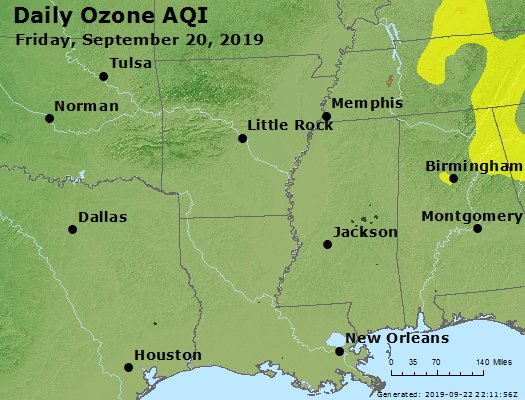 Peak Ozone (8-hour) - https://files.airnowtech.org/airnow/2019/20190920/peak_o3_ar_la_ms.jpg