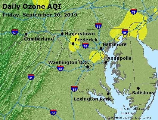 Peak Ozone (8-hour) - https://files.airnowtech.org/airnow/2019/20190920/peak_o3_maryland.jpg