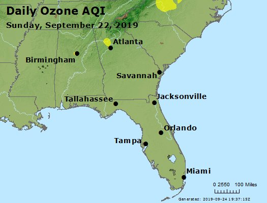 Peak Ozone (8-hour) - https://files.airnowtech.org/airnow/2019/20190922/peak_o3_al_ga_fl.jpg