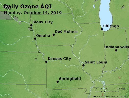 Peak Ozone (8-hour) - https://files.airnowtech.org/airnow/2019/20191014/peak_o3_ia_il_mo.jpg