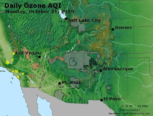 Peak Ozone (8-hour) - https://files.airnowtech.org/airnow/2019/20191021/peak_o3_co_ut_az_nm.jpg