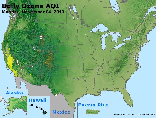 Peak Ozone (8-hour) - https://files.airnowtech.org/airnow/2019/20191104/peak_o3_usa.jpg