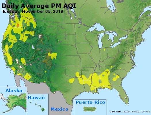 Peak Particles PM2.5 (24-hour) - https://files.airnowtech.org/airnow/2019/20191105/peak_pm25_usa.jpg