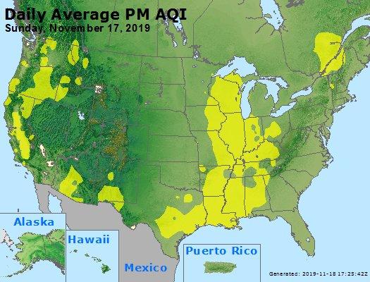 Peak Particles PM2.5 (24-hour) - https://files.airnowtech.org/airnow/2019/20191117/peak_pm25_usa.jpg